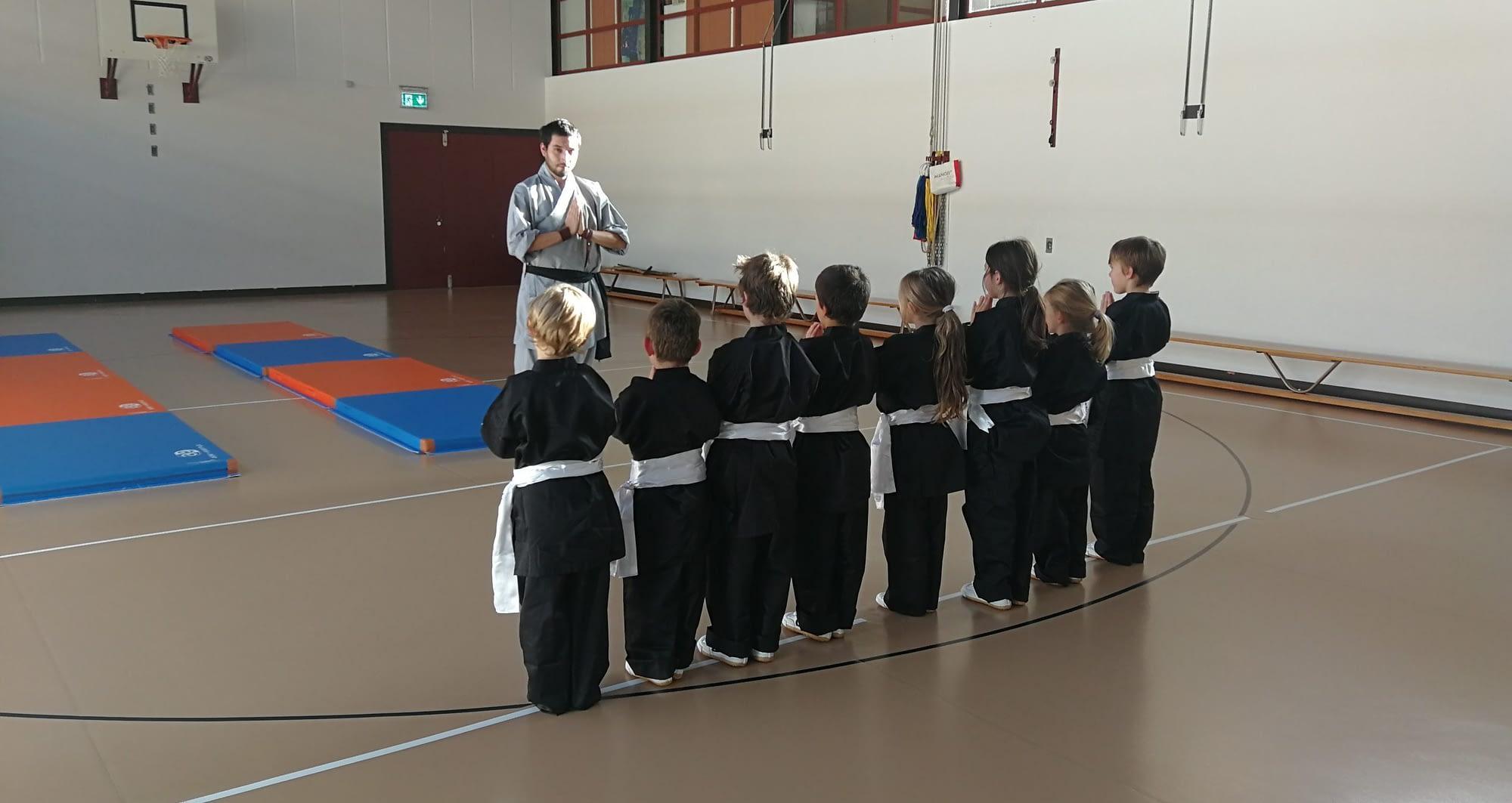 Corso mattutino di Kung Fu Shaolin