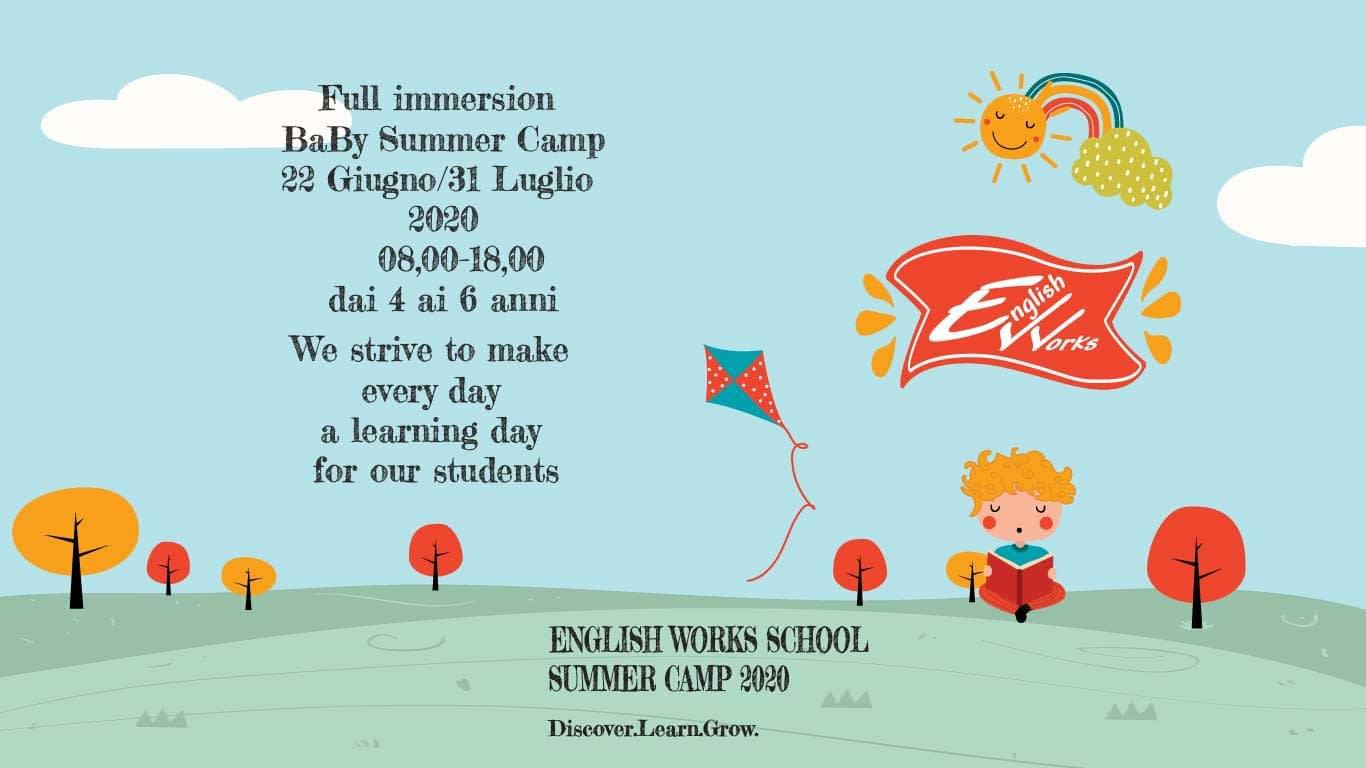 English Works Baby Summer Camp