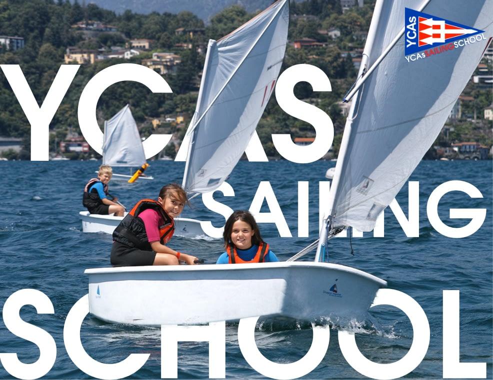 Corsi di vela al Yacht Club Ascona per tutta l'estate!