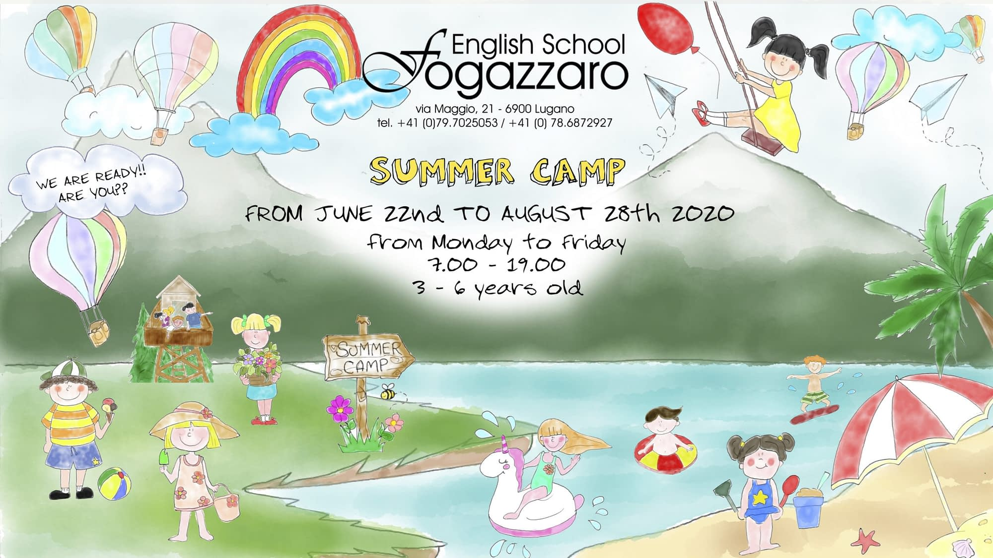 Fogazzaro English School Summer Camp