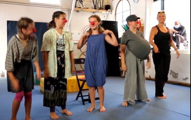 Corso di teatro e clowneria
