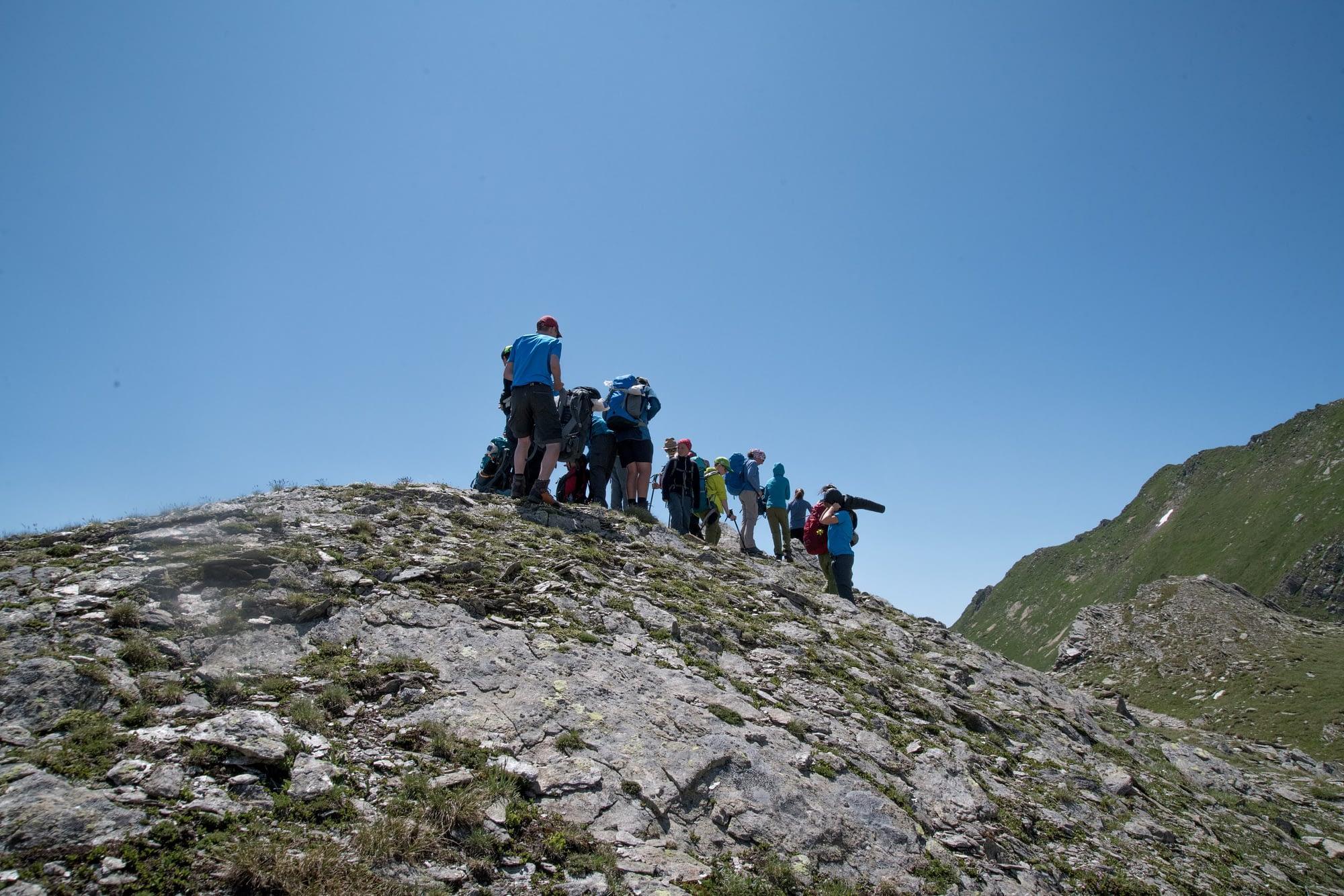 Inseguendo il dragone alpino - Minitrekking
